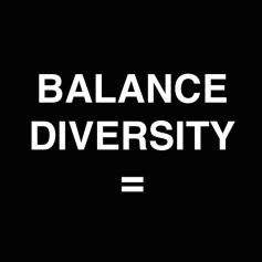 BALANCE DIVERSITY logo